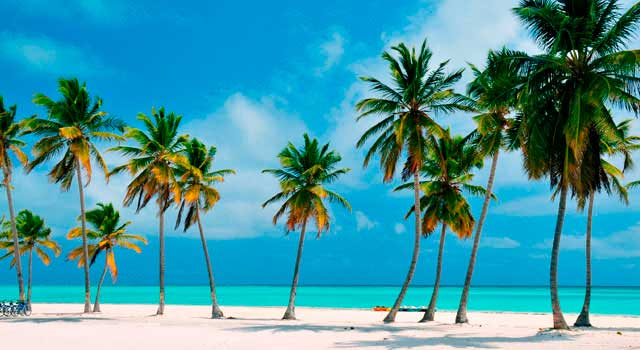 The trip to Punta Cana certainly allow you to enjoy the best beaches in the world.