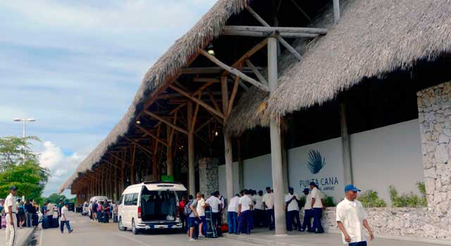 Punta Cana Airport served 6,3 Million passengers in 2015.